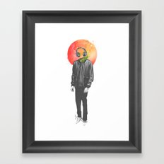 Wireless Framed Art Print