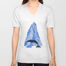 The Living Iceberg Unisex V-Neck
