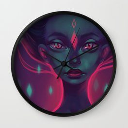 Caro girl Wall Clock