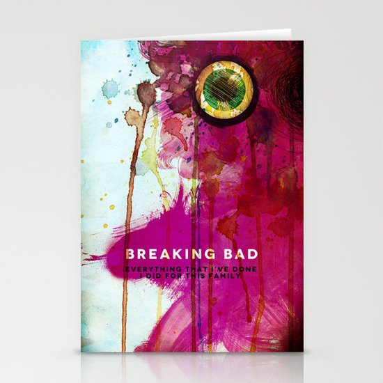 BREAKING BAD Stationery Cards