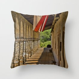 Old Mission Throw Pillow