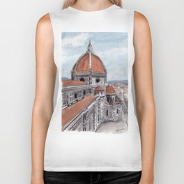 The Duomo-Florence Biker Tank