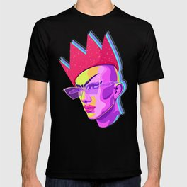 QUEEN SASHA VELOUR T-shirt