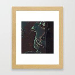 One Last Goodbye Framed Art Print