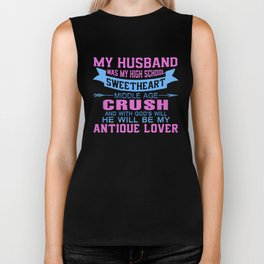 My Husband Was My High School Sweetheart Biker Tank
