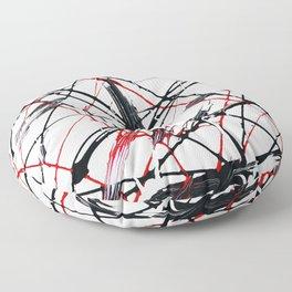 Web Of Lies Floor Pillow
