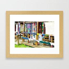 Wool Room 2 Framed Art Print