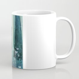 Cat in the forest Coffee Mug