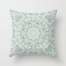 Bermuda Zen Throw Pillow