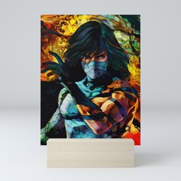 Colorful Shinigami Mini Art Print