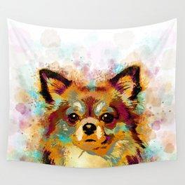 Dog 141 Chihuahua Wall Tapestry