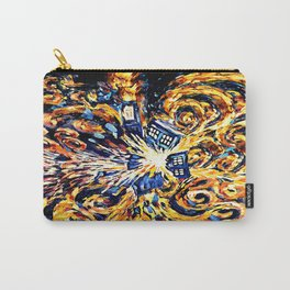 Exploded with Flame Blue phone Box iPhone 4 4s 5 5c 6, pillow case, mugs and tshirt Carry-All Pouch