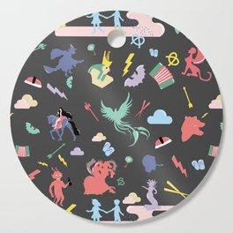 Myths // traditions pattern Cutting Board