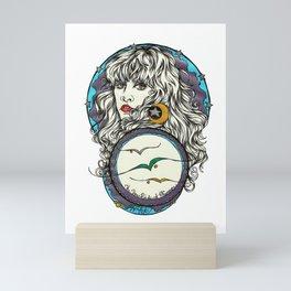 The 3 Birds of Rhiannon Mini Art Print