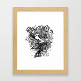 Circle Jerks Framed Art Print