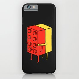 Never Let Go iPhone Case