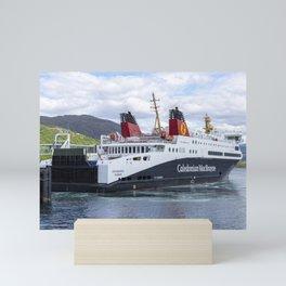 Loch Seaforth Ferry Mini Art Print