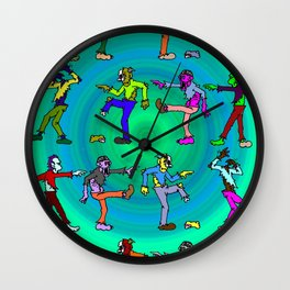 Ungrateful Dead Dance Wall Clock