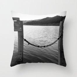WHITE&BLACK Throw Pillow