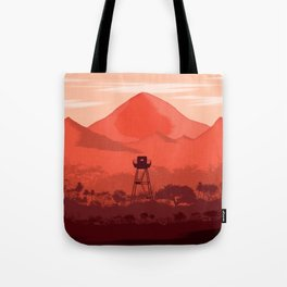 The Forest Lookout Tote Bag