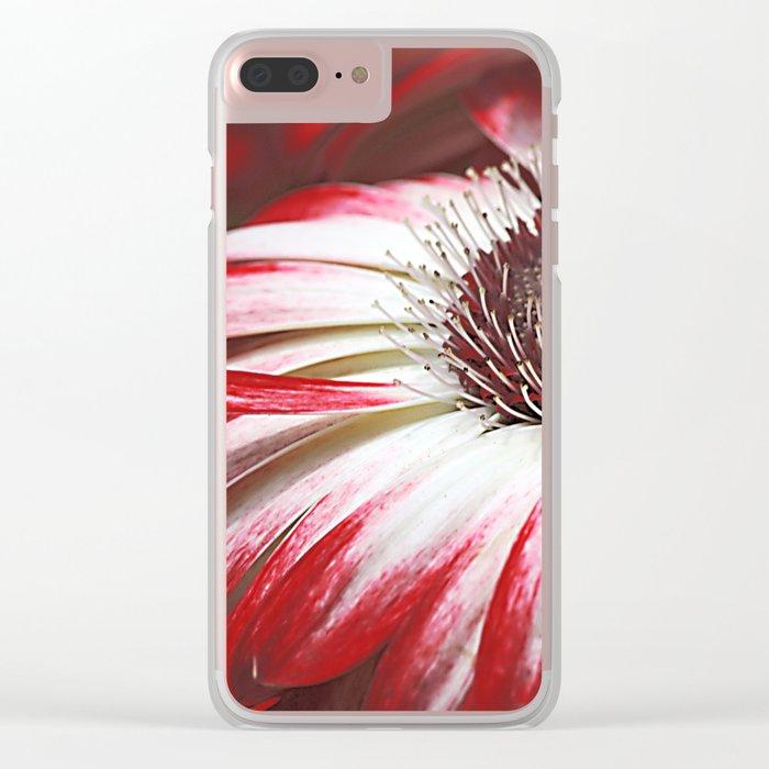 Gerbera mystery Clear iPhone Case