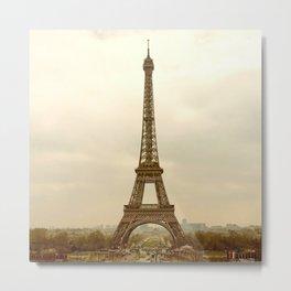 EiffelTower Photo Metal Print