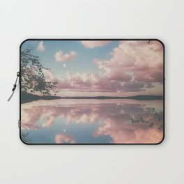 Lake and Pink Clouds Laptop Sleeve