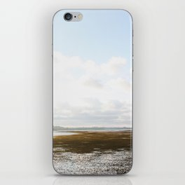Low Tide at the Lighthouse iPhone Skin