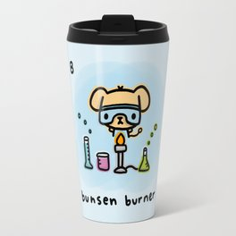 B for bunsen burner Travel Mug