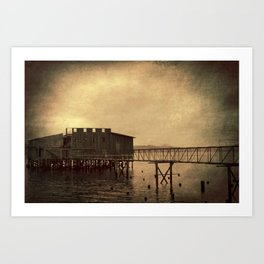 Old cannery... Art Print