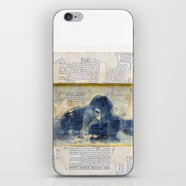 Whisper from the Burlesque Ghost iPhone Skin