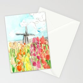 Holland in Spring Stationery Cards