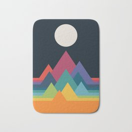 Whimsical Mountains Badematte