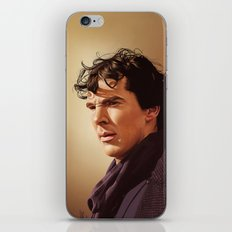 Against the rest of the world - Sherlock iPhone & iPod Skin