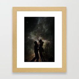 The Universe is Unfolding Perfectly  Framed Art Print