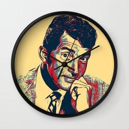 Dean Martin Poster Art Wall Clock