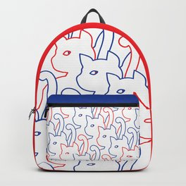 Simple Cat - Line Art Backpack