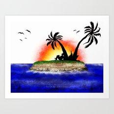 ALOHA  – 065 Art Print