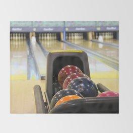 Bowling Pins Throw Blanket