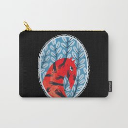 Smug red horse 2. Carry-All Pouch