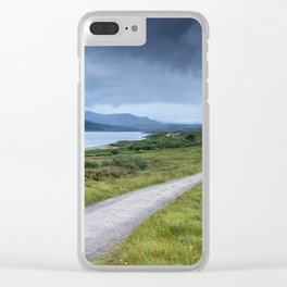 Road in the Highlands Clear iPhone Case
