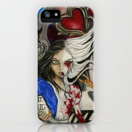 Alice the madness returns iPhone Case