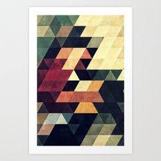 yncyrtyynty  Art Print