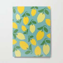 Le Citron Metal Print