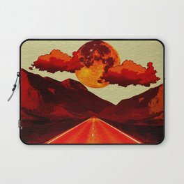 Red Road. Laptop Sleeve
