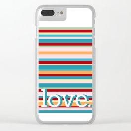 big love Clear iPhone Case