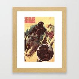 Ye Olde Smokey Framed Art Print