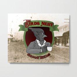 The Bird's Nest Metal Print