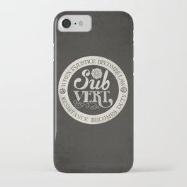 Subvert iPhone Case