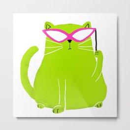 Cat in Disguise  Metal Print